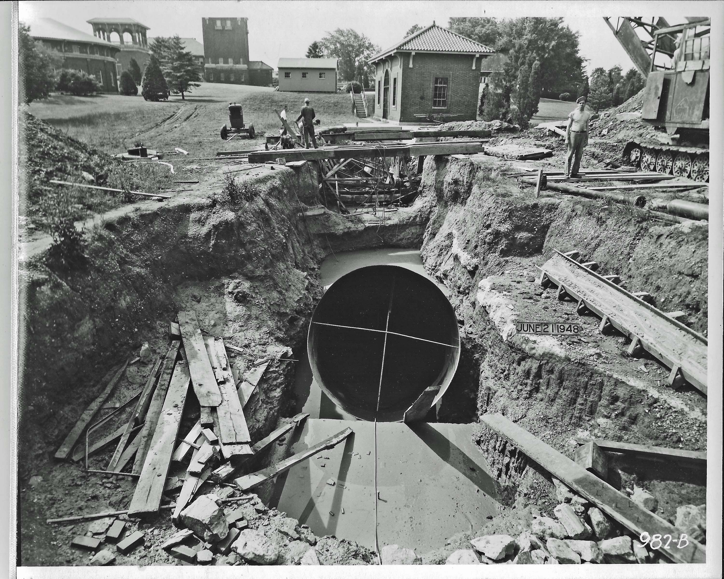 1881 Tunnel Inspection Again Water And Me